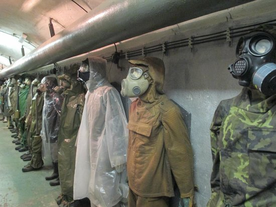 Communism and Nuclear Bunker Tour : Evolution of Soviet-made gas masks