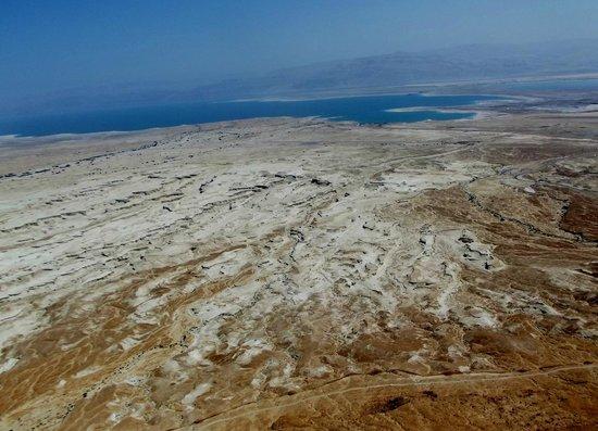 Masada National Park: panorama sul Mar Morto