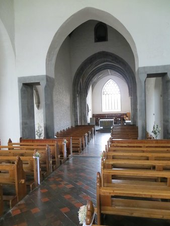Holy Cross Abbey : The tastefully restored Abbey is an active place of Roman Catholic worship...