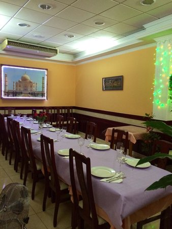 Taj Tenerife Indian Restaurant: Zona vip