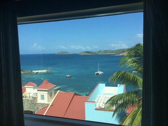 Marriott's Frenchman's Cove: Actual view from living room in St. John building, 642