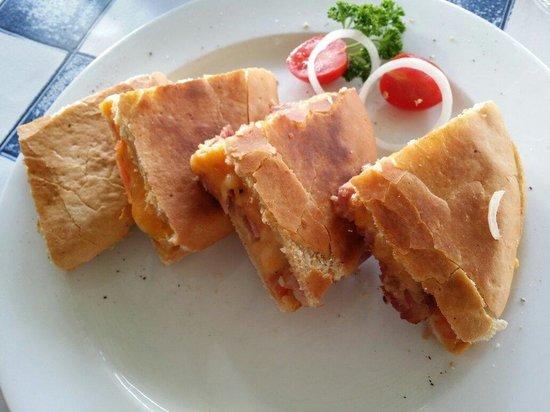 34 South: Lovely tramezini for lunch