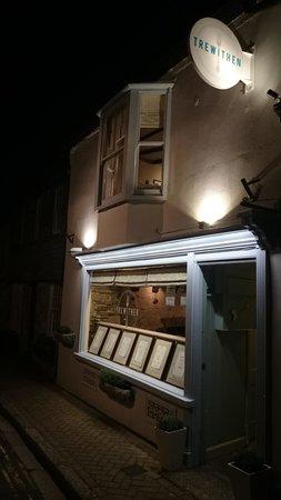 Lostwithiel, UK: trewithen by night