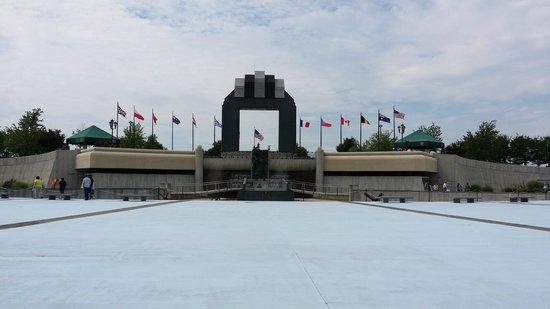 National D-Day Memorial: Main display
