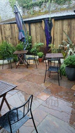 Lostwithiel, UK: garden