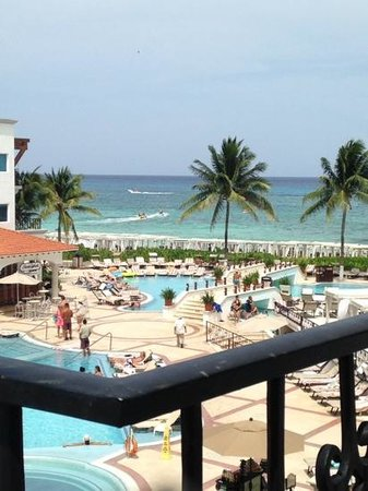 The Royal Playa del Carmen: view from room