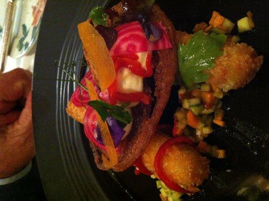 Manoir de Lan Kerellec : great dish at the restaurant