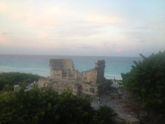 The Westin Lagunamar Ocean Resort: the view from my room