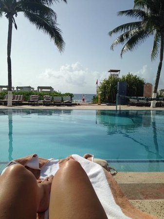The Royal Playa del Carmen: one of the pools