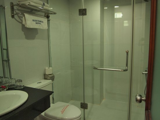 Hanoi Holiday Diamond Hotel: bathroom 1