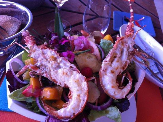 L'Oasis: La salade de langouste