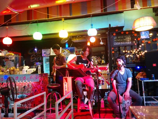 Colour bar garden: DA band
