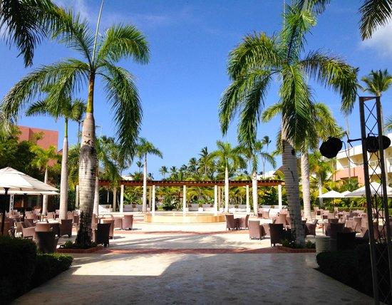 Secrets Royal Beach Punta Cana: terrasse apéro