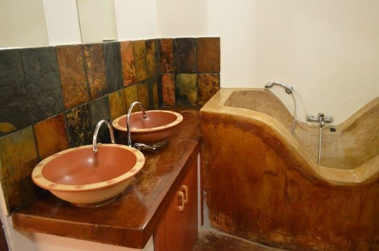 Silonque Bush Estate: de badkamer
