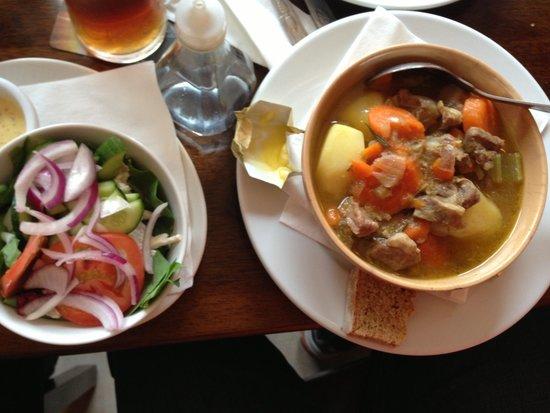 Foleys Restaurant & Bar: My husband Stew