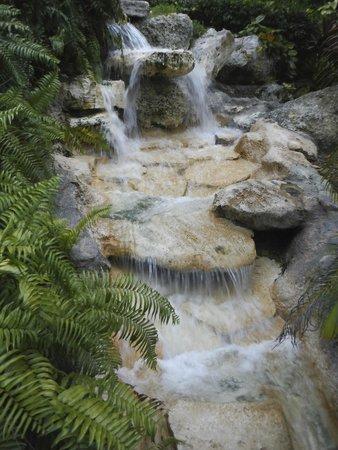 Melia Nassau Beach - All Inclusive: Waterfall near pool