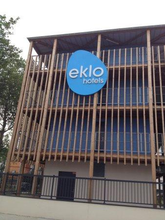 Eklo Hotels Le Havre : Facade de l'hôtel