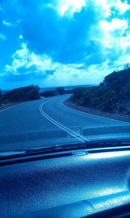 Geographe Cove Resort: driving to Yallingup