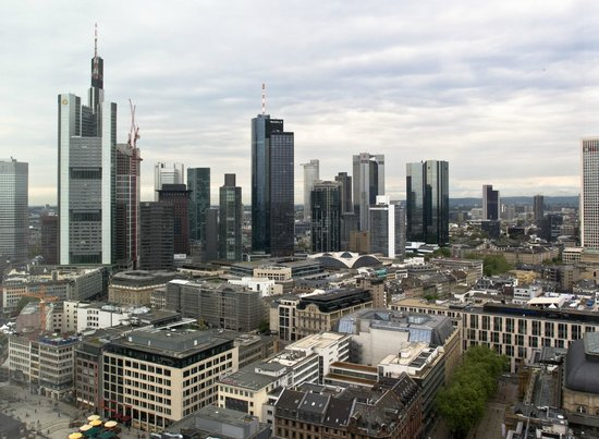 Jumeirah Frankfurt: A view from our room