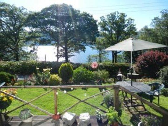 Briar Bank B&B on Loch Ness: Le jardin