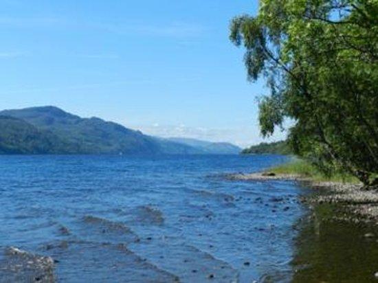 Briar Bank B&B on Loch Ness: La petite plage du Loch Ness