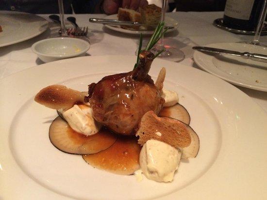 Clos Maggiore: Braised Shoulder of Loire Valley Rabbit