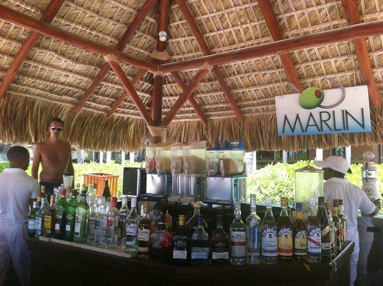 Secrets Royal Beach Punta Cana: bar de la plage
