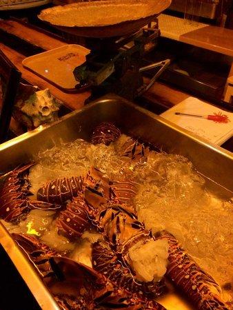 Fernando Jr´s Lobster House: Choice of lobster tails