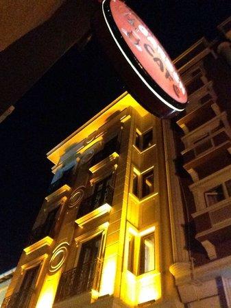 Agora Life Hotel : Agora at night!