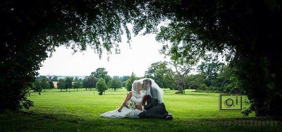 Tewkesbury Park: Wedding shot