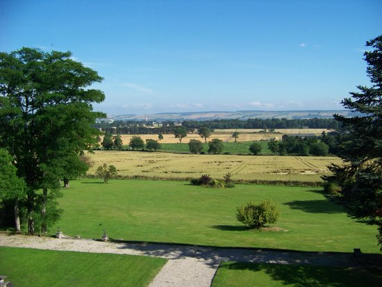 Kincraig Castle Hotel : View from our 3rd floor room