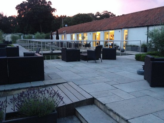 The Olive Tree: View from the back of the restaurant