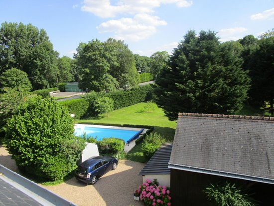 Le Moulin Des Landes: View from the Suite Touraine