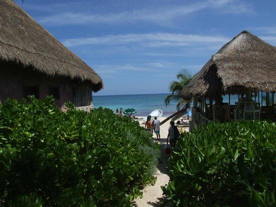 Playa Paraiso: ingreso publico, te va a costar un poco encontrarlo pero vale la pena
