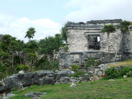 Playa Paraiso: hermosas ruinas