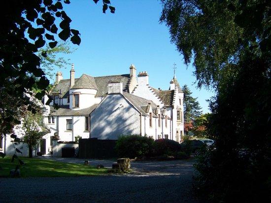 Kincraig Castle Hotel : Side/back of the castle hotel
