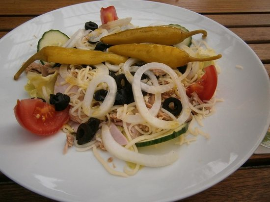 Wincent Hotel: Salade Nizza