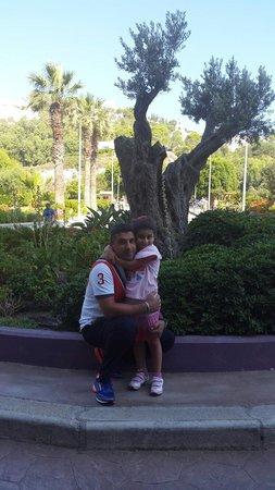 Esperides Beach Family Resort : Lov u dad