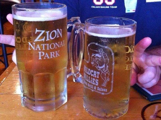 Wildcat Willies Ranch Grill & Saloon: Come combattere i 40 gradi all'ombra allo Zion