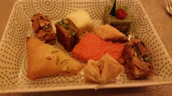 Sofra BLD: A selection of desserts