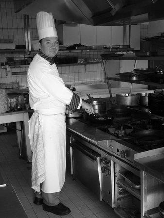 Le Soufflet: le chef Franck Chateauroux