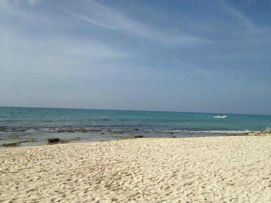 Gran Porto Resort: praia em frente ao hotel
