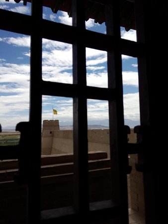 Jiayuguan Fortress: The view from one of the watchtowers