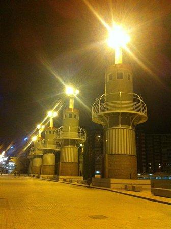 Expo Hotel Barcelona: Salida de Estación Sants