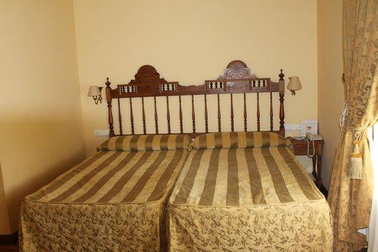 Palacio Azcarate: camas amplias