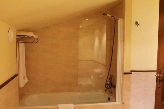 Palacio Azcarate: baño abuhardillado