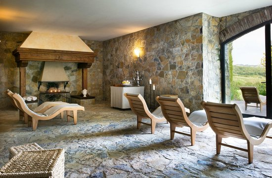 Hotel Villa Campomaggio Resort & Spa: SPA Relax Area