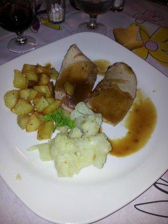 Hotel Al Sole: Arrosto e patate
