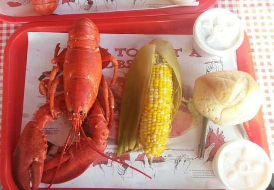 Down East Lobster Company: 1.25# lobster