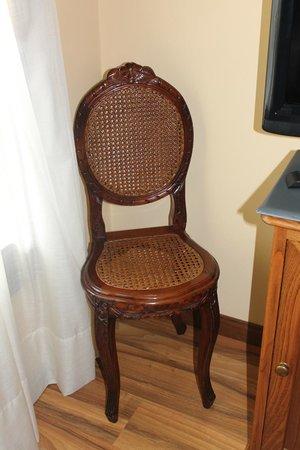 Palacio Azcarate: y las sillas!!